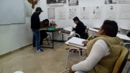 Alumnos enfocados a sus practicas profesionales